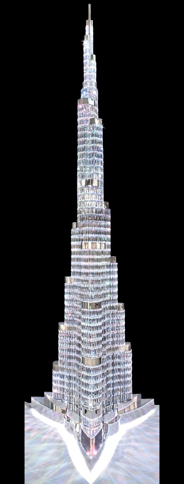 люстра от Faustig в виде небоскрёба