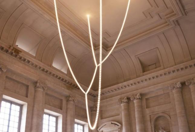 Люстра с кристаллами Swarovski в Версале