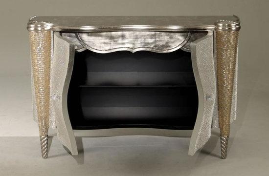 позолоченная мебель со стразами Майкла Джексона