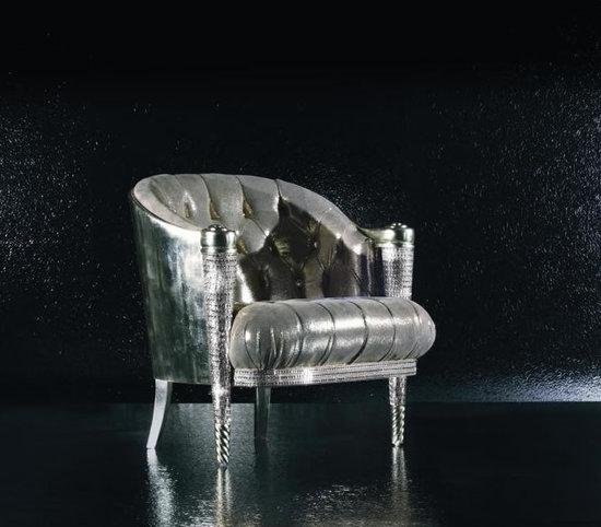 кресло Майкла Джексона со стразами
