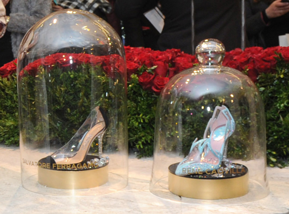 Туфли от Jimmy Choo, украшенные Swarovski