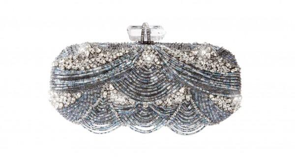 клатч с кристаллами Сваровски от Marchesa