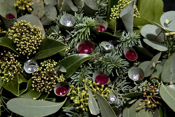 Драгоценный Рождественский венок