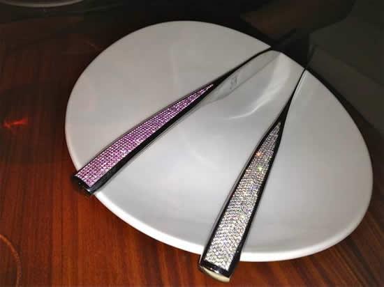 нож из сапфиров