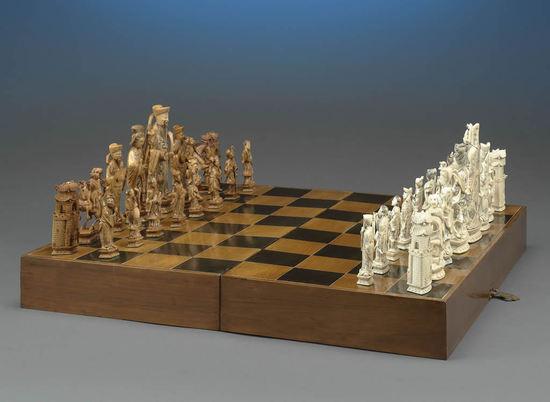 китайские винтажные шахматы