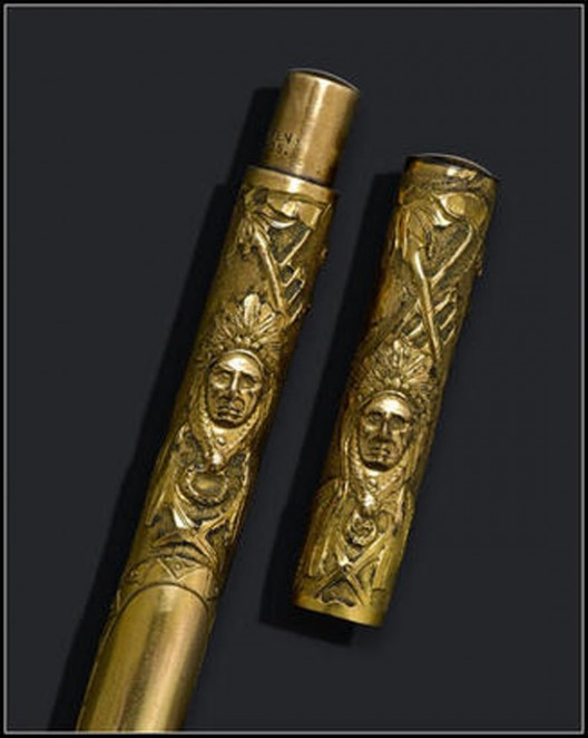 Самая редкая ручка Parker выставлена на аукцион