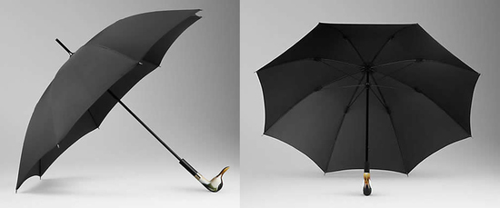 «Burberry» - зонтики с украшениями в виде животных