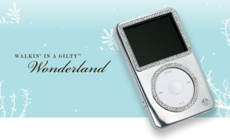 iPod и iPhone, украшенные Swarovski