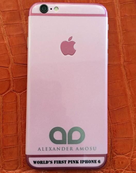 Первый в мире розовый iPhone 6