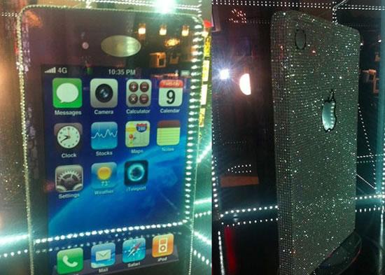 Самый большой кейс для iPhone украшен Swarovski
