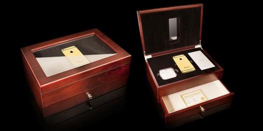 Роскошный iPhone 6 украшен Swarovski